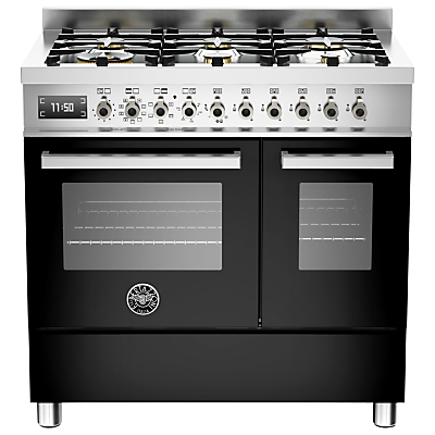 Image of Bertazzoni Professional Series 90cm Dual Fuel Twin Range Cooker