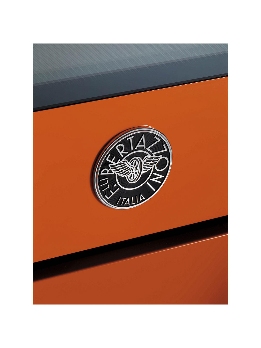 Buy Bertazzoni Professional Series PRO90-5I-MFE-S-ART 90cm Electric Induction Single Range Cooker, Orange Online at johnlewis.com