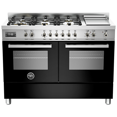 Image of Bertazzoni Professional Series 120cm Dual Fuel Twin Range Cooker