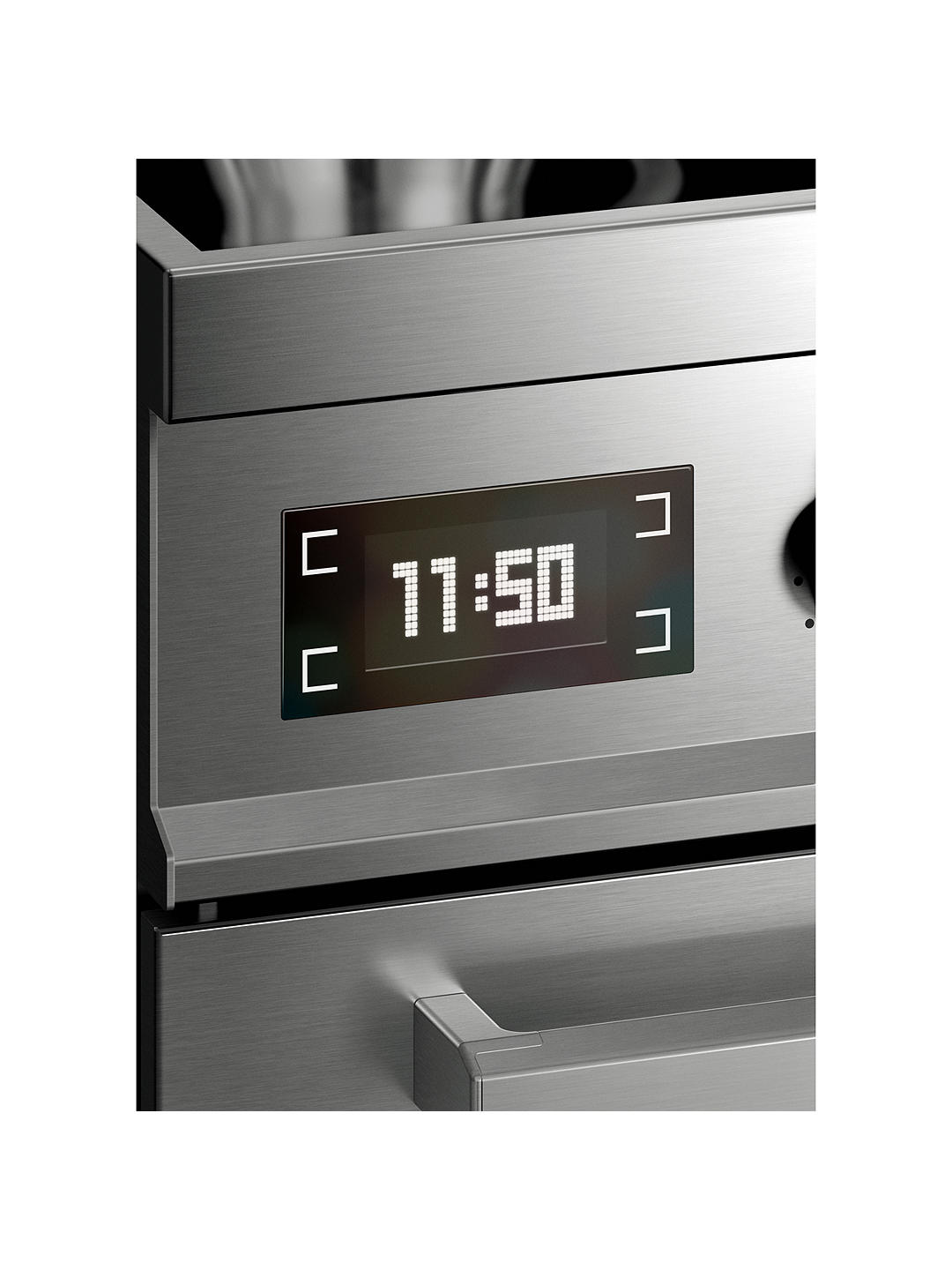 Buy Bertazzoni Professional Series PRO90-5I-MFE-S-XT 90cm Electric Induction Single Range Cooker, Stainless Steel Online at johnlewis.com