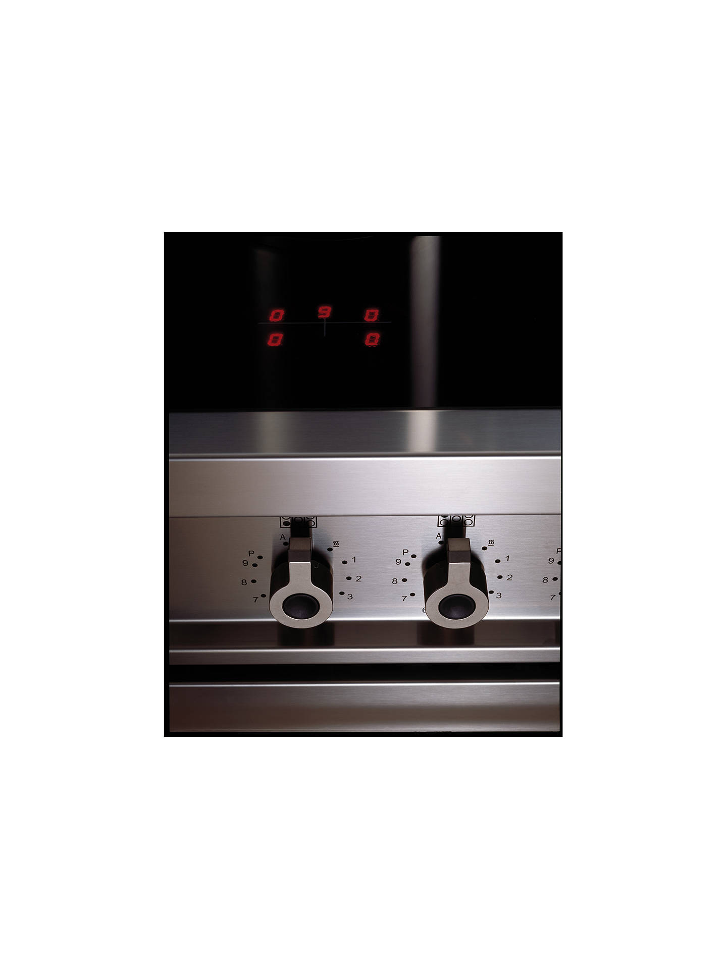 BuyBertazzoni Professional Series PRO90-5I-MFE-S-XT 90cm Electric Induction Single Range Cooker, Stainless Steel Online at johnlewis.com