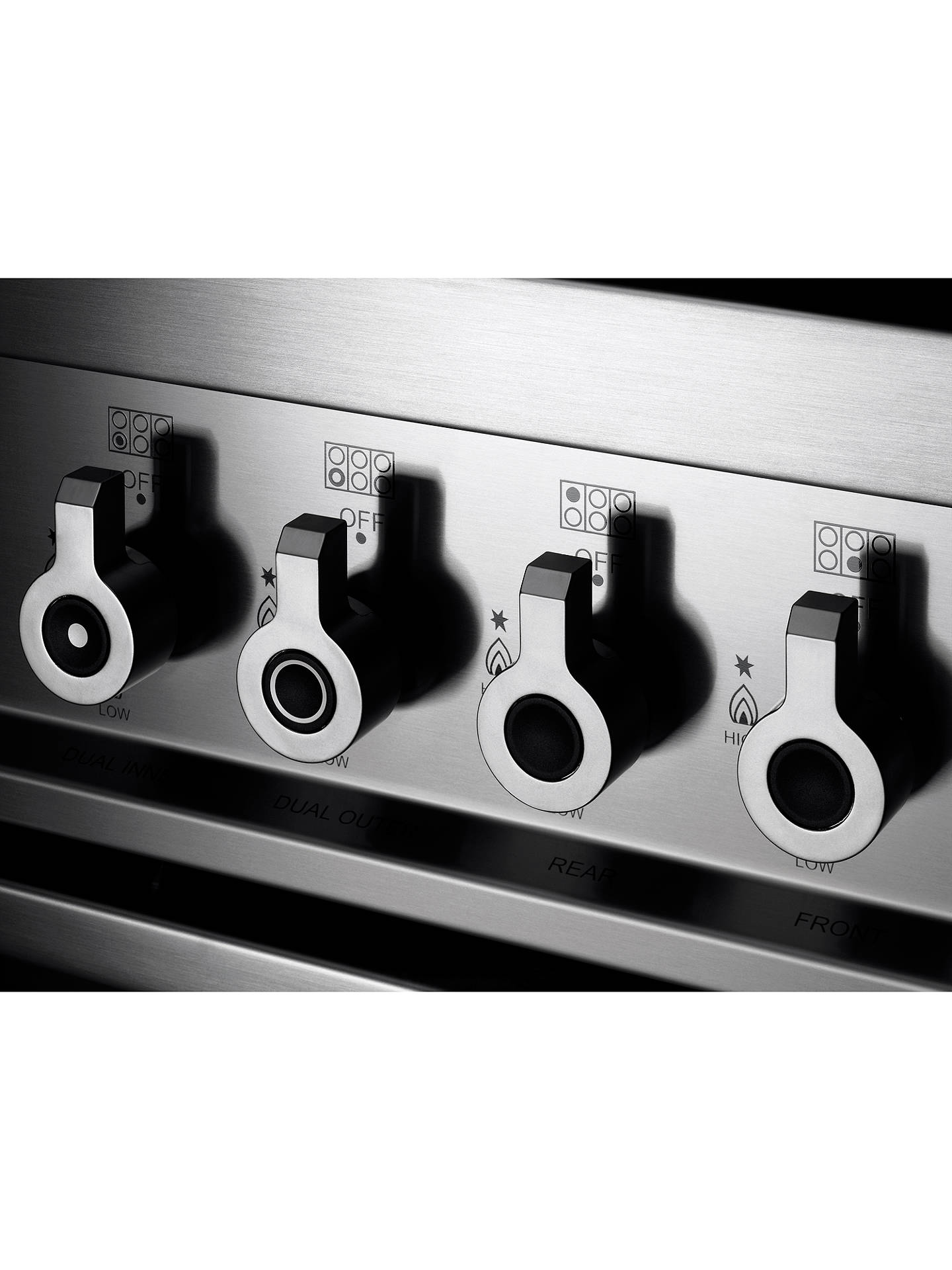 BuyBertazzoni Professional Series PRO90-6-MFE-S-BIT 90cm Dual Fuel Single Range Cooker, White Online at johnlewis.com
