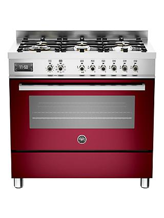 Bertazzoni Professional Series 90cm Dual Fuel Single Range Cooker