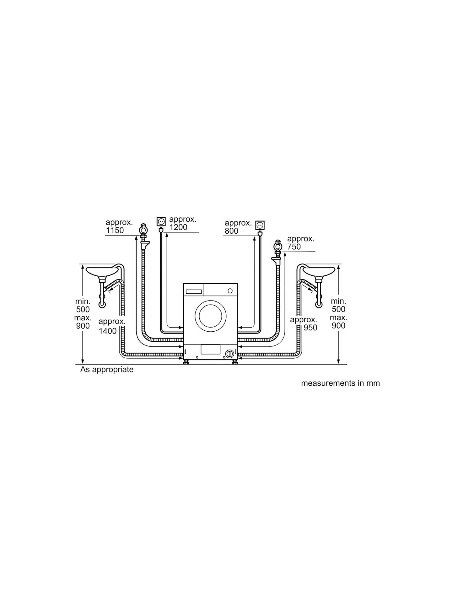 Neff V6540x1gb Integrated Washer Dryer 7kg Wash 4kg Dry Load B This Is A Simple Wiring Diagram That Shows Examples Of Most Buyneff Energy Rating