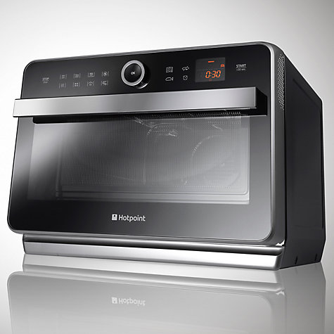 Hotpoint Ultimate Freestanding Combination Microwave Oven With Grill Black Online At Johnlewis
