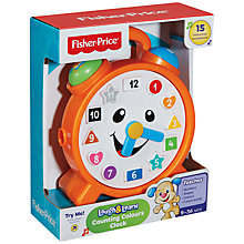 Buy The Fisher-Price Laugh & Learn Counting Colours Clock Online at johnlewis.com