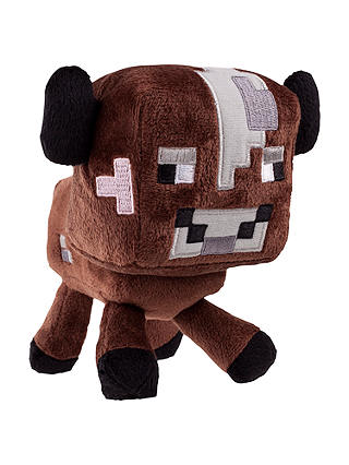 "Buy Minecraft 7"" Plush Toy, Cow Online at johnlewis.com"
