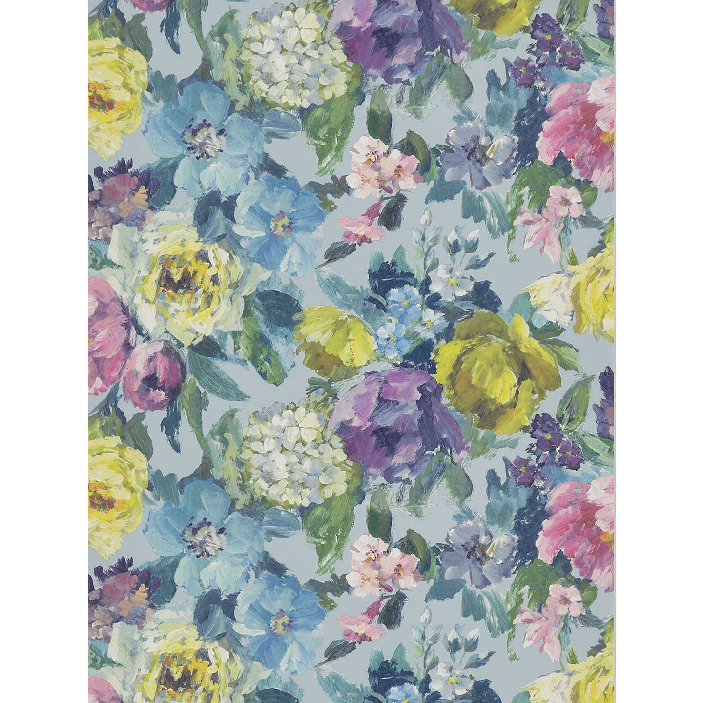 BuyDesigners Guild Roseto Wallpaper Celadon PDG675 01 Online At Johnlewis