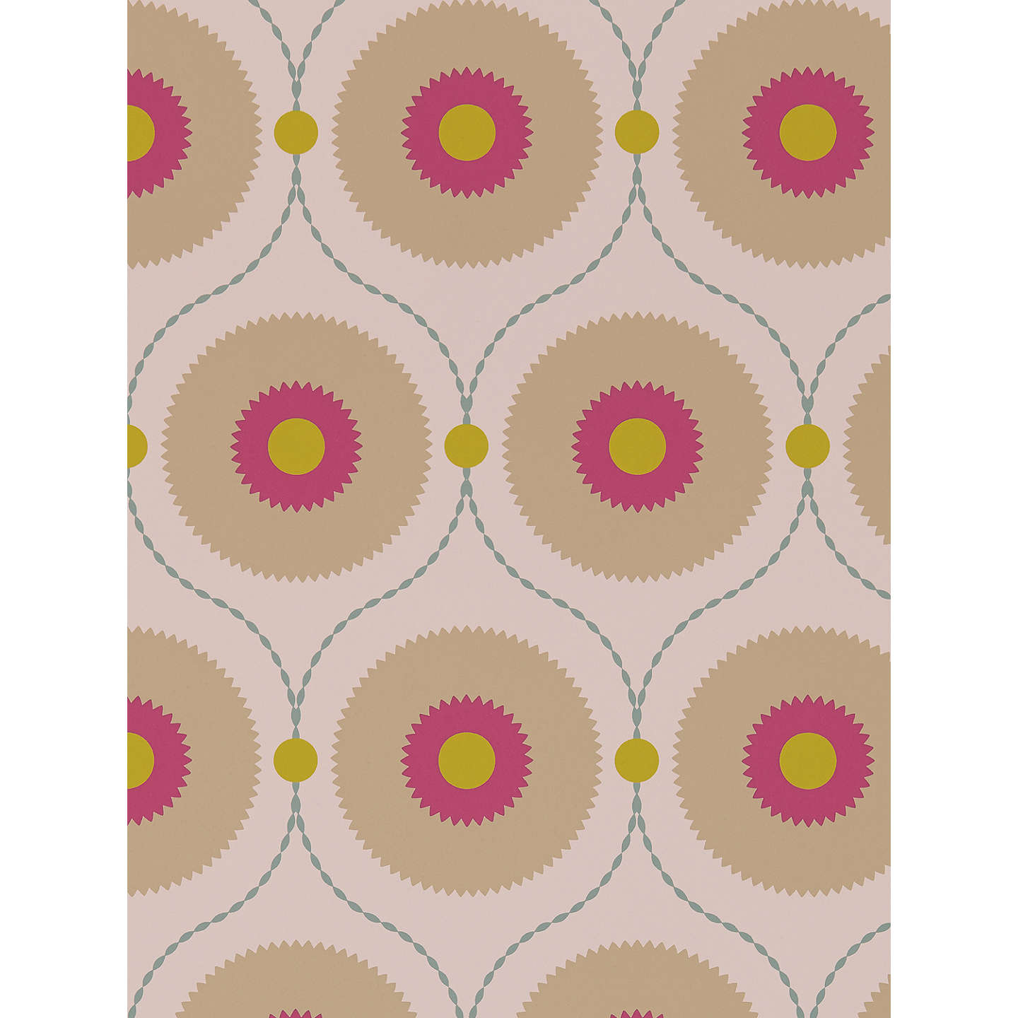 BuySanderson Starla Wallpaper, Lime, DSOH215420 Online at johnlewis.com