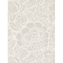 Buy Sanderson Poppy Damask Wallpaper Online at johnlewis.com
