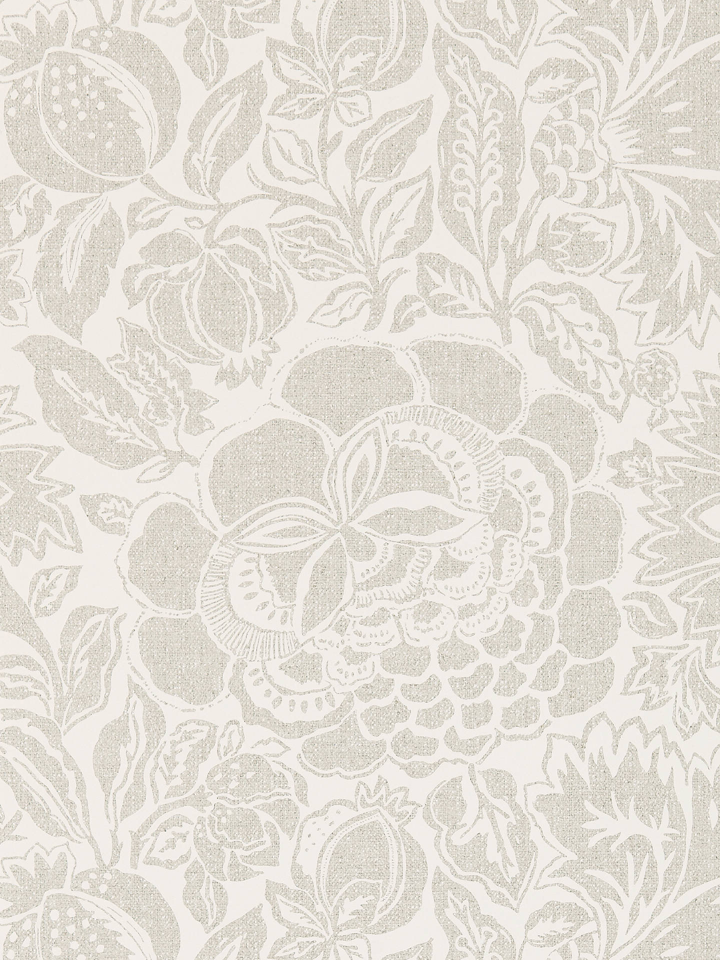 Sanderson Poppy Damask Wallpaper At John Lewis Partners