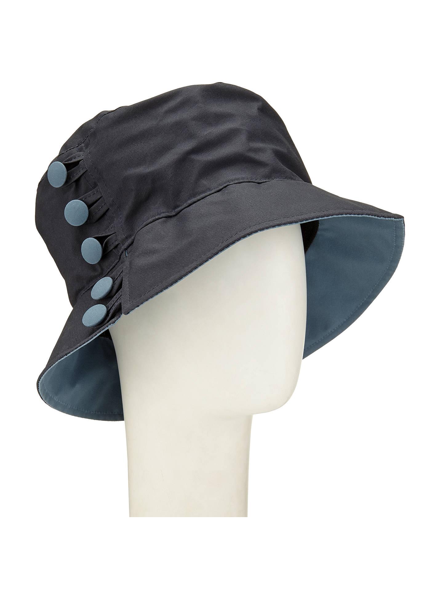 BuyOlney Waxed Cotton Button Rain Hat d8093e5a573