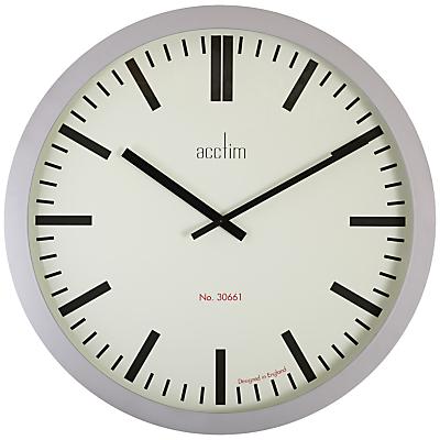 Acctim Monument Wall Clock, Grey