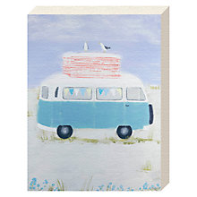 Buy Hannah Cole - Camping on the Dunes Canvas Print, 20 x 15cm Online at johnlewis.com