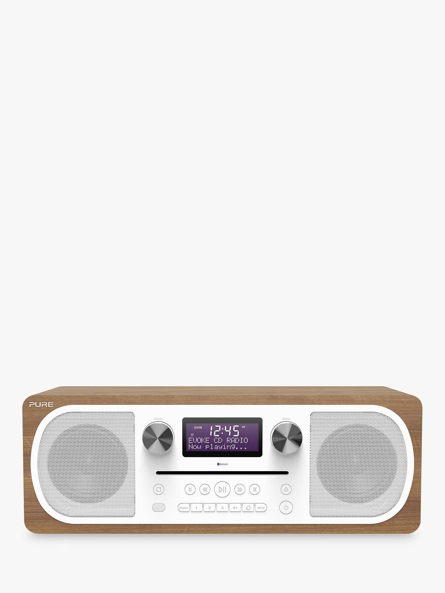 Pure Evoke C D6 DAB FM Bluetooth Stereo All In e Music System