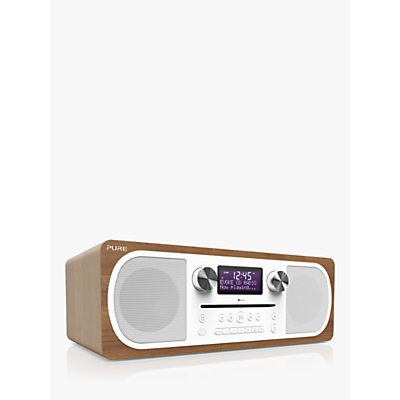 Pure Evoke C-D6 DAB+/FM Bluetooth Stereo All-In-One Music System With Remote Control