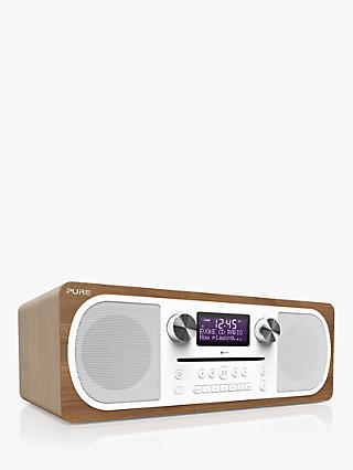 Pure Evoke C-D6 DAB+/FM Bluetooth Stereo All-In-One Music Radio CD Player | Audio John Lewis \u0026 Partners