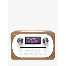 Buy Pure Evoke C-D4 DAB+/FM Bluetooth Compact All-In-One Music System With Remote Control, Walnut Online at johnlewis.com