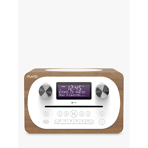 buy pure evoke c d4 dab fm bluetooth compact all in one music system with remote control. Black Bedroom Furniture Sets. Home Design Ideas