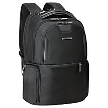 Buy Briggs & Riley Medium Multi-Pocket Backpack, Black Online at johnlewis.com