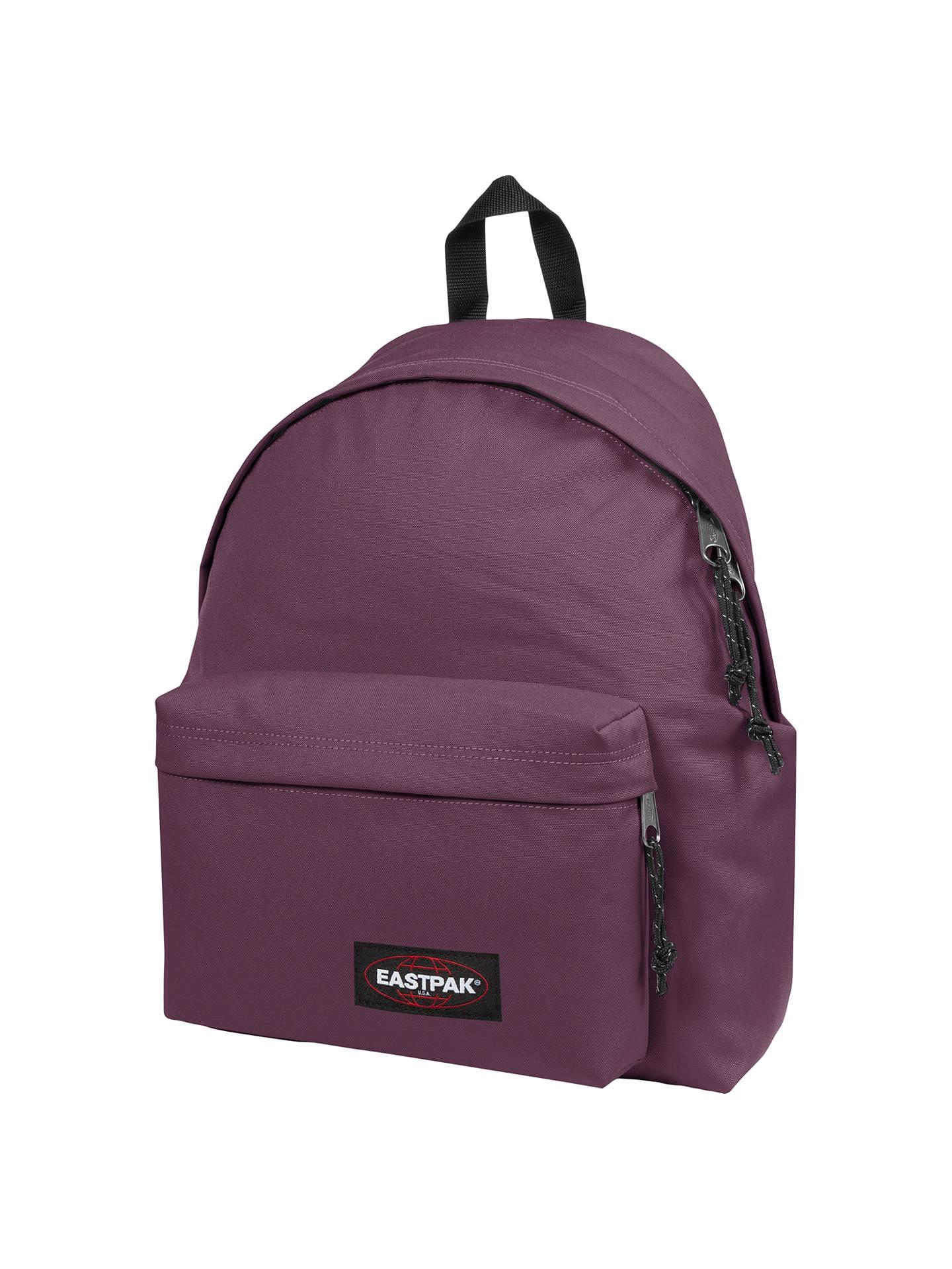 194826a8ef84c4 Buy Eastpak Padded Pak'R Backpack, Winetasting Red Online at johnlewis.com