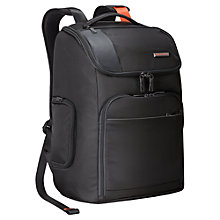 Buy Briggs & Riley Verb Advance Backpack, Black Online at johnlewis.com