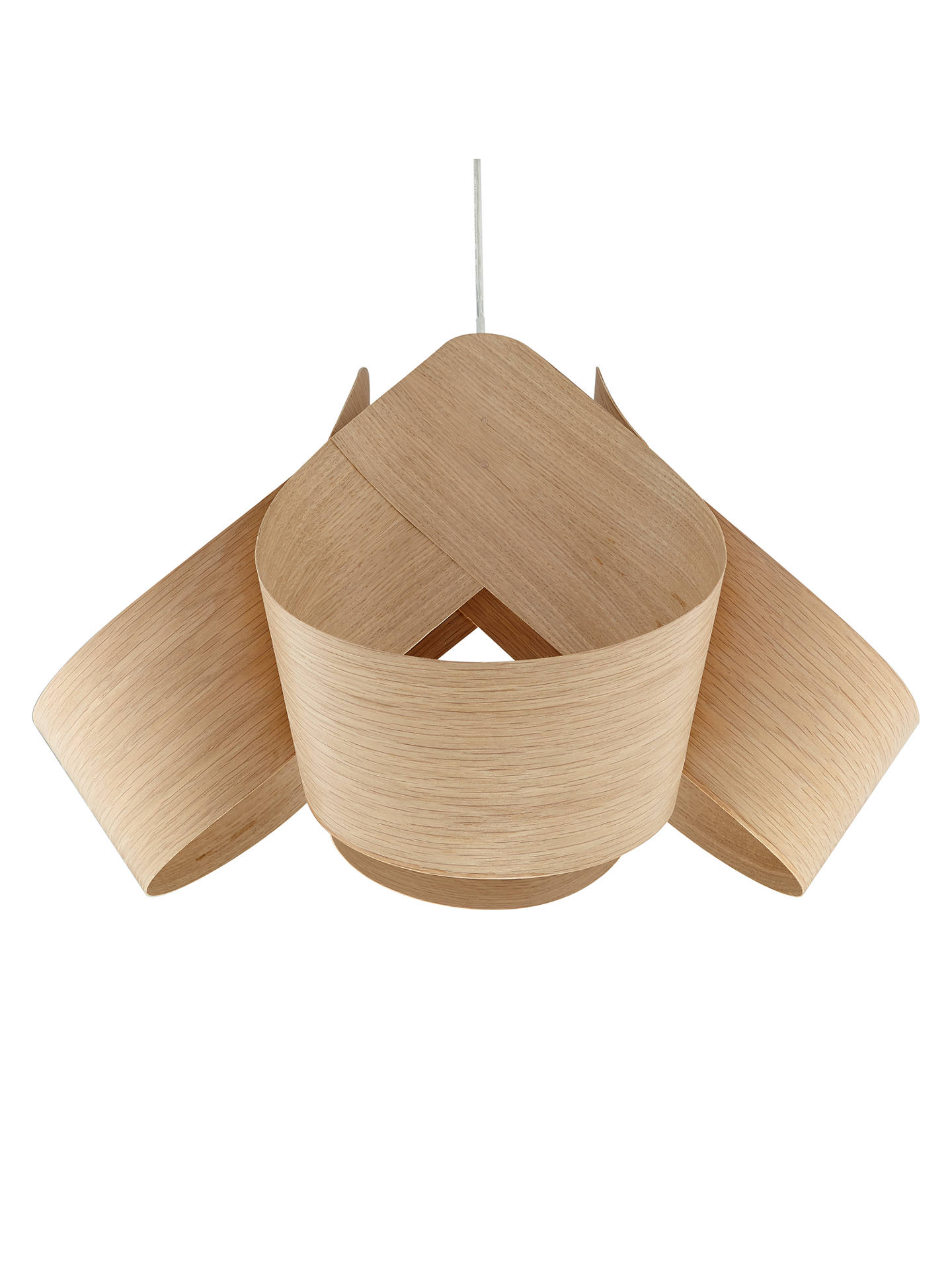 Buy Tom Raffield Spinnaker Pendant Ceiling Light, Oak Online at johnlewis.com