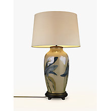 Buy Jenny Worrall Tall Urn Arum Lily Lamp Base Online at johnlewis.com