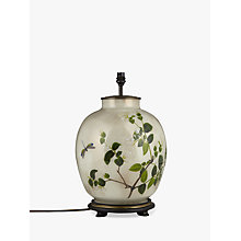 Buy Jenny Worrall Large Round White Jasmine Lamp Base Online at johnlewis.com