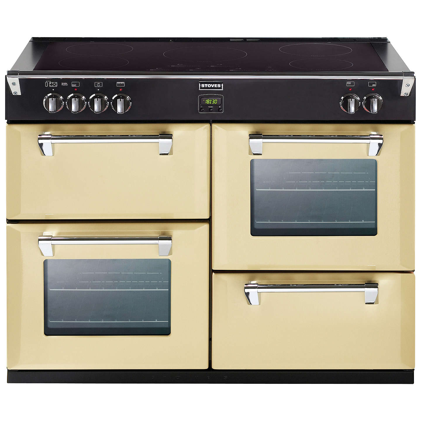 BuyStoves Richmond 1000Ei Induction Hob Range Cooker, Champagne Online at johnlewis.com
