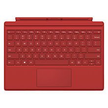 Buy Microsoft Surface Pro Type Cover, Keyboard Cover for Surface Pro 4 Online at johnlewis.com