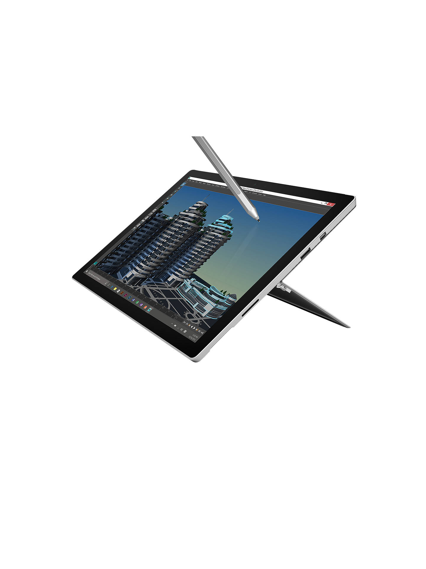 Microsoft Surface Pro 4 Tablet, Intel Core m3, 4GB RAM, 128GB SSD, 12 3