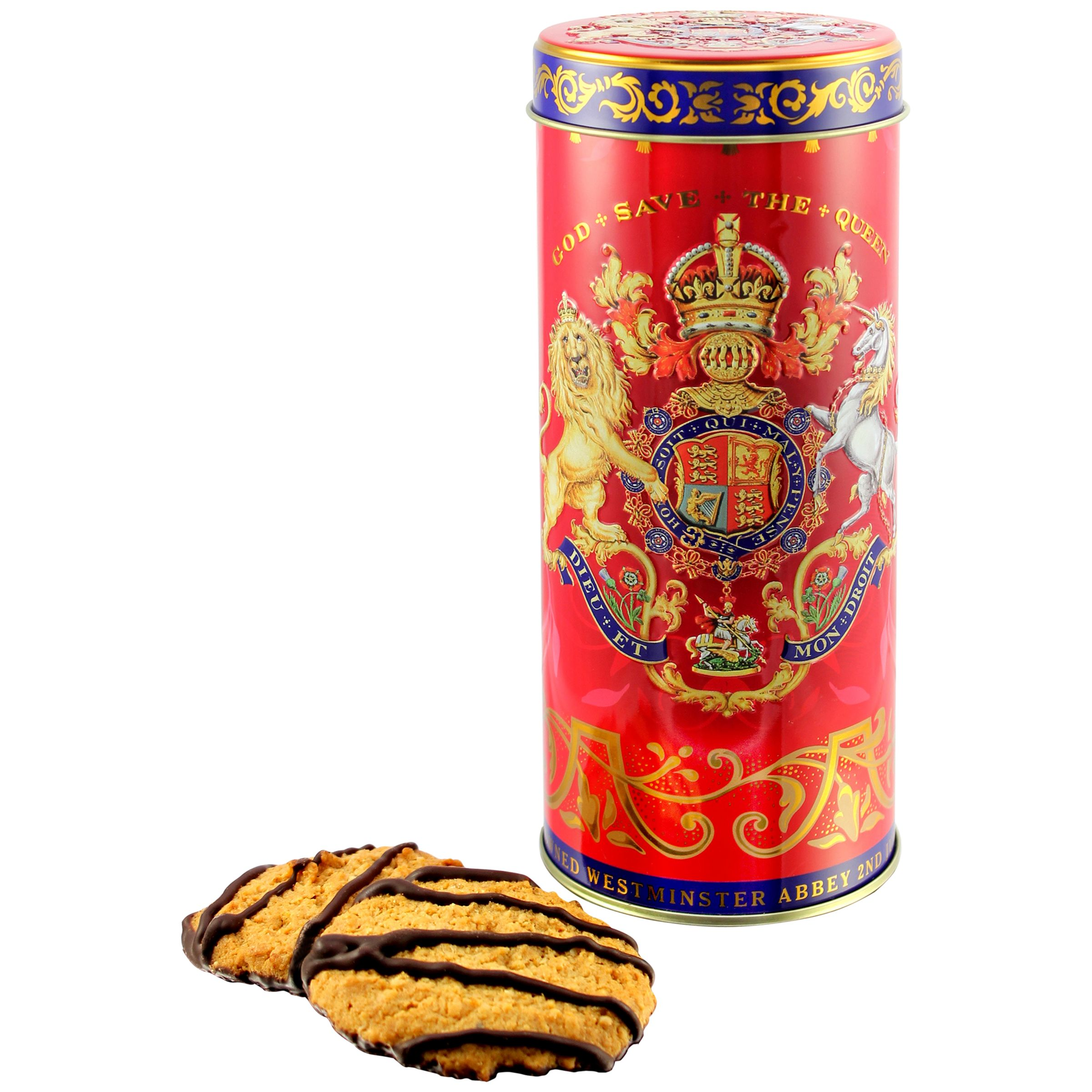 Royal Collection Royal Collection Coronation Biscuit Tube with Biscuits 250g
