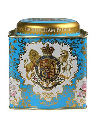 Royal Collection Coat of Arms Tea Caddy with 50 Tea Bags