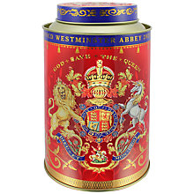 Buy Royal Collection Coronation Tea Caddy with 50 Royal Blend Tea Bags Online at johnlewis.com