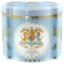 Buy Royal Collection Georgian Tea Caddy with 50 Tea Bags (Variety), Blue Online at johnlewis.com