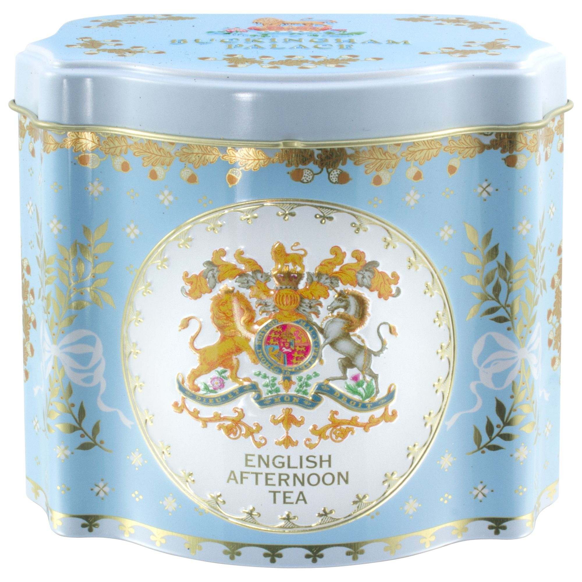 Royal Collection Royal Collection Georgian Tea Caddy with 50 Tea Bags (Variety), Blue