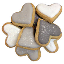 Buy Little Bee Bakery Mini Heart Biscuits X5 Online at johnlewis.com