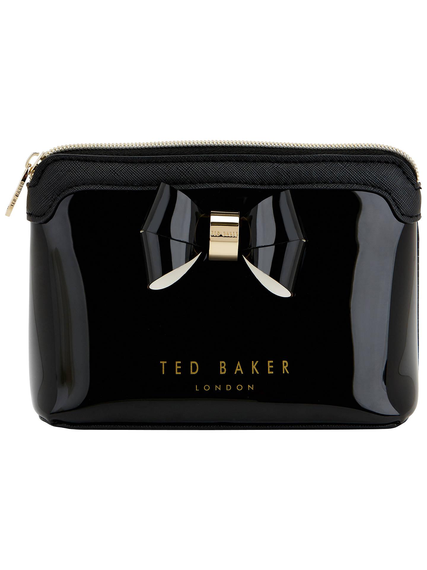 Ted Baker Harloe Bow Makeup Bag at John Lewis & Partners