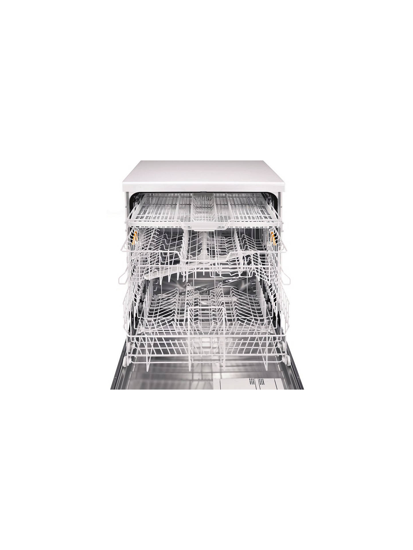 Buy Miele G4203SCi Active Semi Integrated Dishwasher, White Online at johnlewis.com