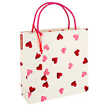 Buy Emma Bridgewater Pink Hearts Bag, Medium Online at johnlewis.com