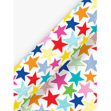 Buy Deva Designs Party Stars Wrapping Paper, 3m Online at johnlewis.com