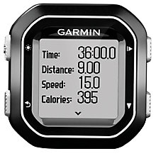Buy Garmin Edge 25 GPS Bike Computer Online at johnlewis.com