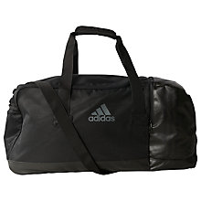 Buy Adidas Performance Teambag, Medium, Black Online at johnlewis.com