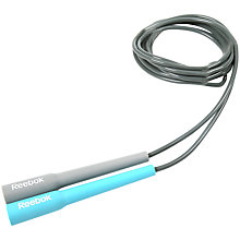 Buy Reebok Speed Skipping Rope, Grey/Blue Online at johnlewis.com
