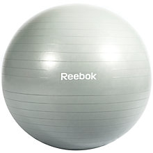 Buy Reebok Stability 65cm Gym Ball, Grey Online at johnlewis.com