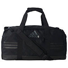 Buy Adidas Three Stripes Performance Team Bag, Small Online at johnlewis.com