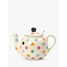 Buy London Pottery Spot Teapot with Built-In Ceramic Filter, 2 Cup Online at johnlewis.com