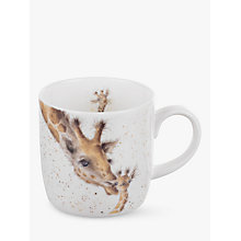 Buy Royal Worcester Wrendale Giraffe Mug Online at johnlewis.com