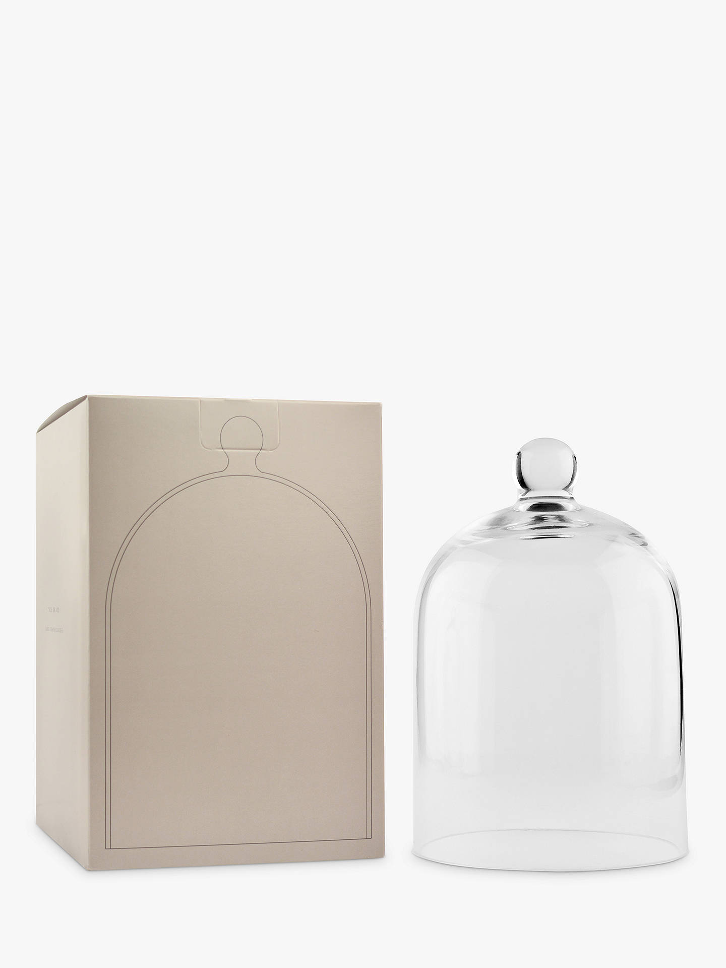 BuyTrue Grace Glass Cloche, Large Online at johnlewis.com